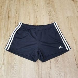Adidas Women's Climalite Three Stripe Shorts